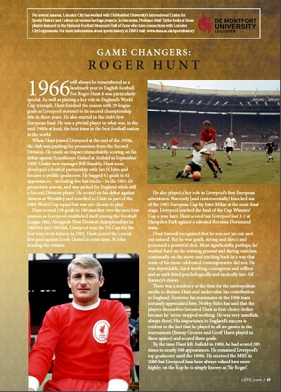 FOOTIE roger hunt