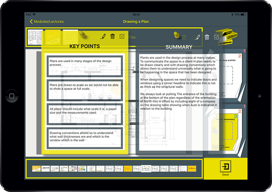 Notebuilder Screenshot