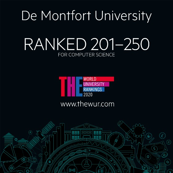DMU ranked globally for computing and engineering subjects