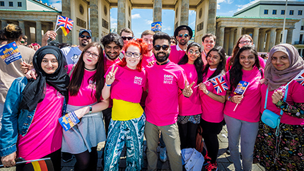 DMU students in Berlin