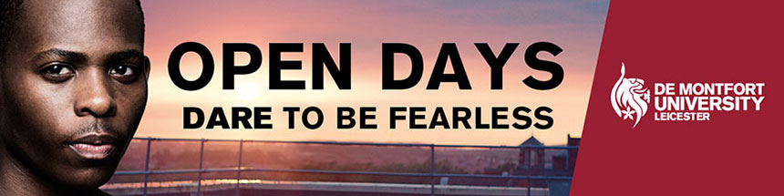OPEN DAYS - DARE TO BE FEARLESS