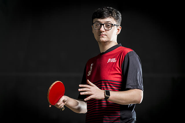 Men's table tennis heads into Varsity on a high
