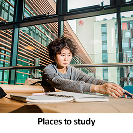 Places to study
