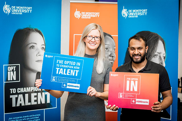 Offer placements or internships to DMU students