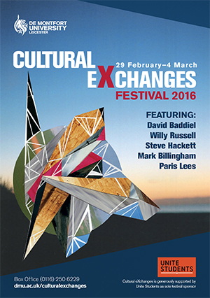 Cultural Exchanges festival brochure 2016