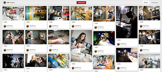 DMU Art and Design facilities on Pinterest