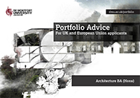 Architecture BA (Hons) Part 1 portfolio advice