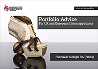 Footwear Design portfolio advice