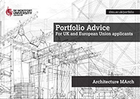 Architecture MArch portfolio advice