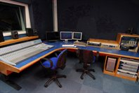 CTS studio with mixing board