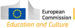 eurpean commission culture and education logo
