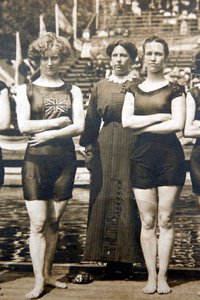 1908 Olympics Great Britain womens swimming team