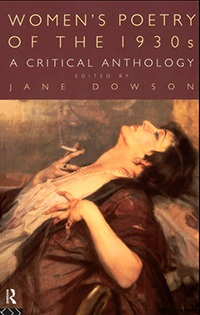 Women's Poetry of the 1930's A Critical Anthology