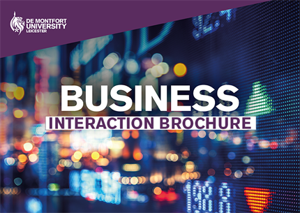 Business Interaction brochure image