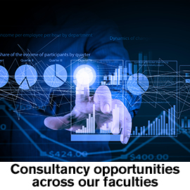 Consultancy opportunities across our faculties
