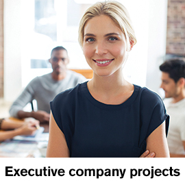 Executive company projects