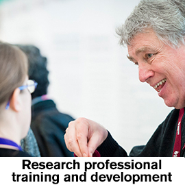 Research professional Training and Development