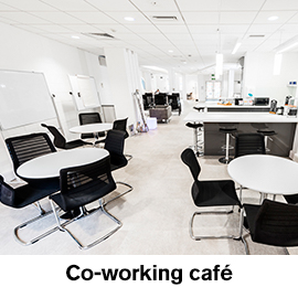 Co-working cafe