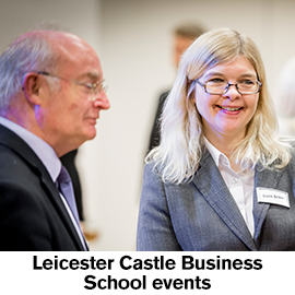 Leicester Castle Business School Events