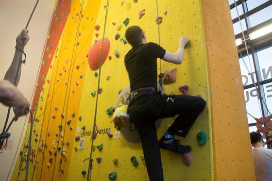 club and climb