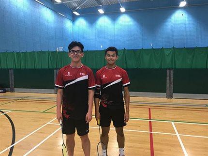 Badminton Men's 1st