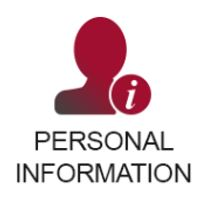 Personal Info tile