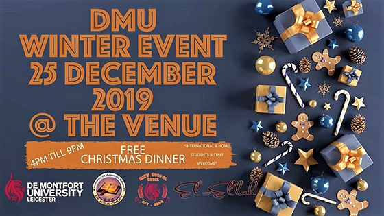 Christmas Day 2019 event at DMU main