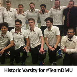 Historic Varsity for #TeamDMU