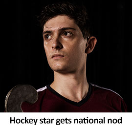 Hockey player gets national nod