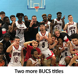 Two more BUCS titles