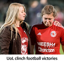 UoL clinch football victories