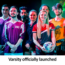 Varsity officially launched