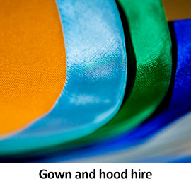 Gown and hood hire