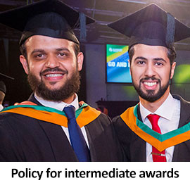 Policy for intermediate awards