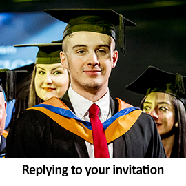 Replying to your invitation