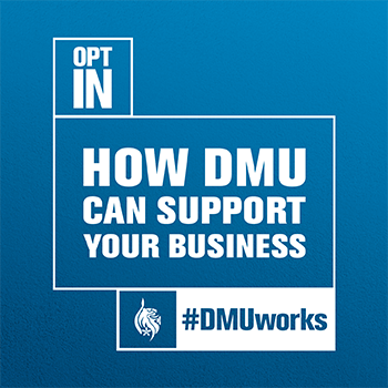 How can DMU support your business??