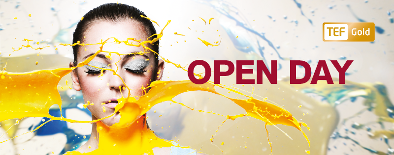 800 x 316 Web Banner - Open Day - Paint Girl