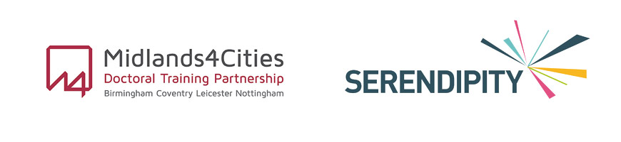 midlands4cities and serendipity logos