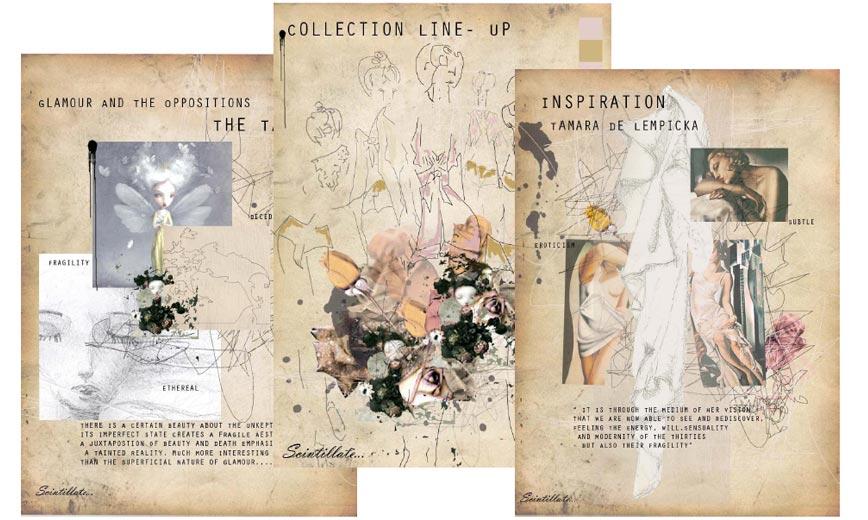 Ba fashion design & textiles full portfolio & explanation | first.