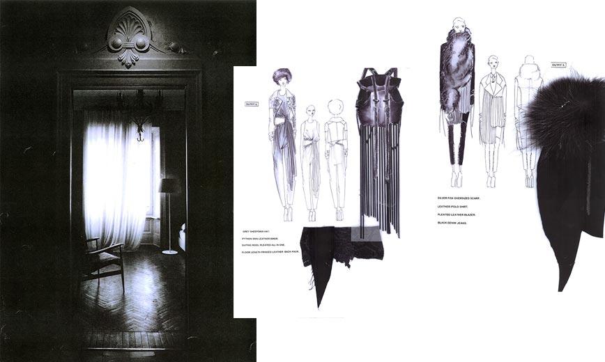 Essays on service fashion design