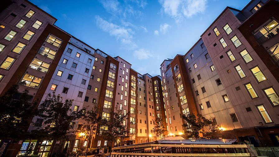 Image of DMU student accommodation