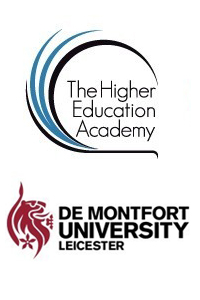 The Higher Education Academy and De Montfort University logos
