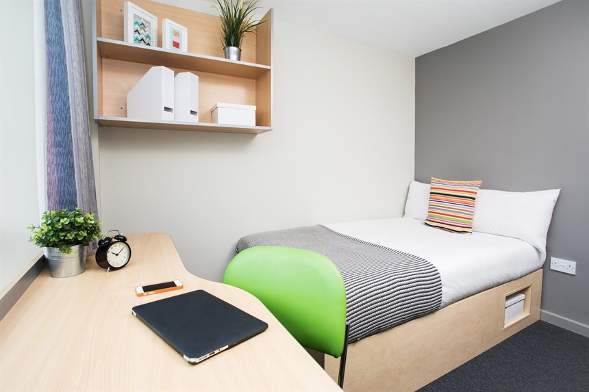 Dmu Accommodation Student Room