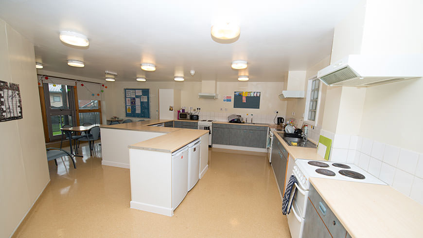 Bede Hall shared kitchen