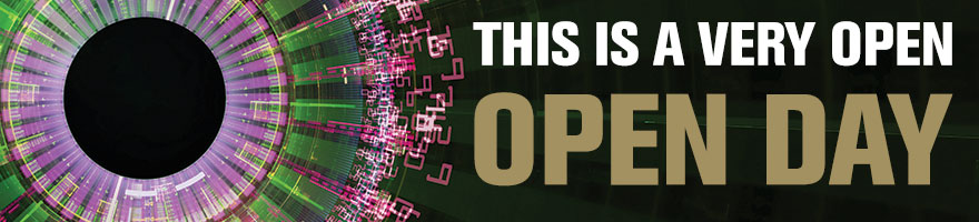 This is a very open - OPEN DAY