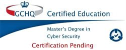 Our Cyber Technology/Security MSc programme is provisionally certified by GCHQ