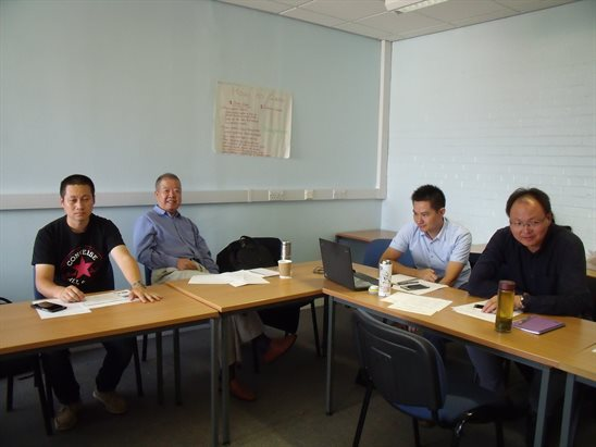 International network project meeting summary photos - De montfort university international office ...