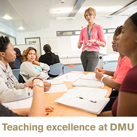 Teaching excellence at DMU