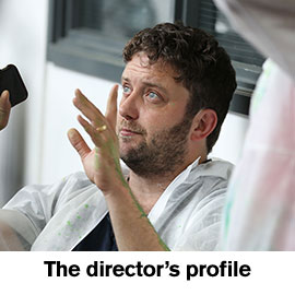 The director's profile