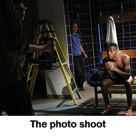 The photo shoot